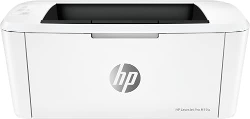 HP LaserJet Pro M15w W2G51A, Impresora A4 Monofunción Monocromo, Impresión a Doble Cara Manual, Wi-Fi, USB 2.0 de alta...