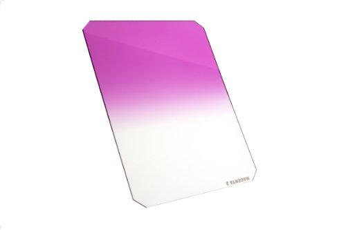 Formatt Hitech Magenta 2 - Filtro Degradado de transición Dura, 100 x 150 mm, Color Magenta