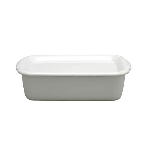 野田琺瑯 ホワイトシリーズ 保存容器 レクタングル深型L 琺瑯蓋付 日本製 WFH-L