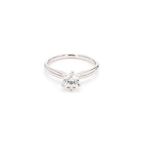 14k White Gold Lab-Grown Diamond Solitaire...