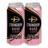 Strongbow Rosé Cider 4x440ML Cans
