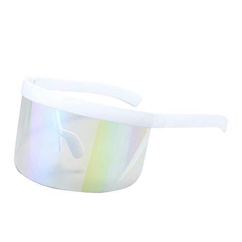 Millster Visier Sonnenbrille UV-beständiger Augenschutz Visierbrille Gesichtsschutz-Visier, Seitliche Und Vordere Gesichtsabdeckung, Ideal Für Langfristiges Tragen, Wiederverwendbare Sonnenbrillen