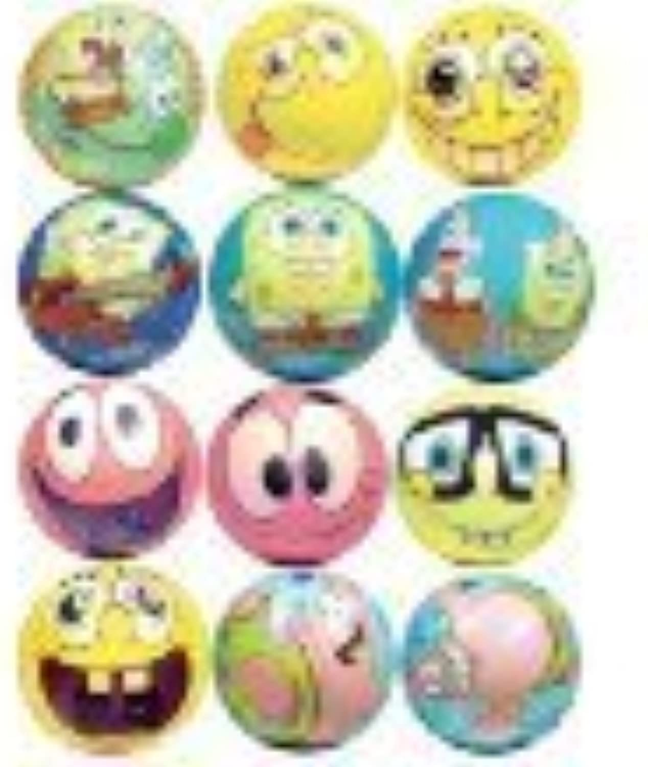 Spongebob Squarepants Party Favors  Soft FoamGraphic balls Lot of 20 by SpongeBob SquarePants