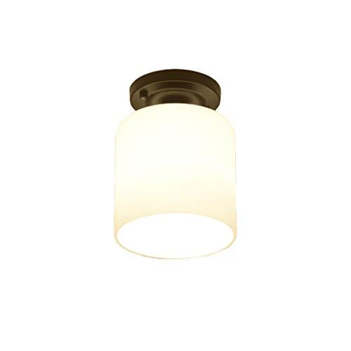 XXT plafondventilator, plafondlamp, klein licht, LED, plafondlamp, allee, keuken, veranda, licht, balkon, hal, licht recht