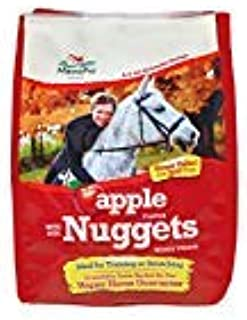 Manna Pro Apple Flavored Bite-Sized Nuggets Horse Treats 4 lb (2 Pack)