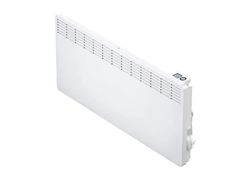 AEG casa Technik 236537parete Termoconvettore WKL 3005per circa 30m², Riscaldamento 3000W, 5–30gradi C, da appendere a parete, Display LCD, Timer settimanale, Metallo, colore: bianco