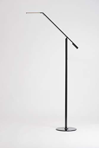 Koncept ELX-A-W-BLK-FLR Equo LED Floor Lamp, Warm Light, Black