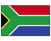 Stock-Flagge 30 x 45 : Südafrika