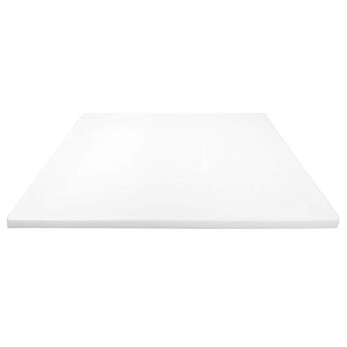Thick XL 24x18 Plastic Cutting Board 0.75 Inch Thick, Extra Large NSF for Food Service