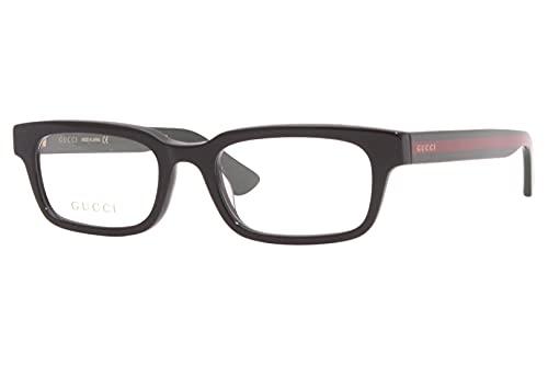 Gucci GG 0928O 005 - Gafas rectangulares (plástico, 52 mm), color verde