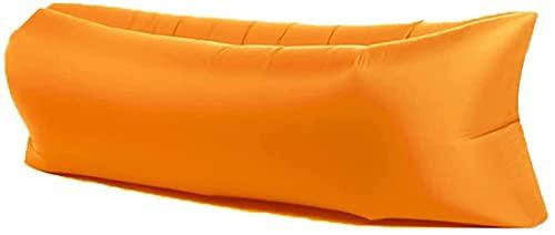 Sofás hinchables para Hamaca asaltada inflable de la hamaca anfibia del sofá de la tumbona, tela, tela resistente al desgarro, bolso de transporte compacto, pila fija, ideal para camping al aire libre