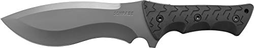 Schrade SCHF28 Little Ricky 14.1in S.S. Full Tang Knife with 7.9in Drop Point Recurve Blade and TPE...