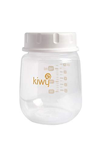 Kiwy Simba, Contenitore per la Conservazione e Raccolta del Latte Materno, Materiale PP, BPA Free,2 x 160ml,Confezione da 2pz