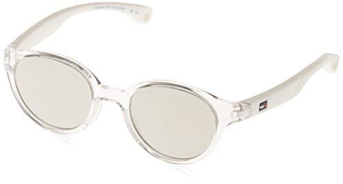 Tommy Hilfiger TH 1424/S SS Gafas de sol, Crystal, 43 Unisex-Adulto