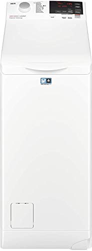 Lavatrice a Carica dall'Alto AEG prfondità 62 cm L6TBG721 913123617 , 1200 Giri/min, LCD, 7 Kg, 56 dB, A+++, Bianco