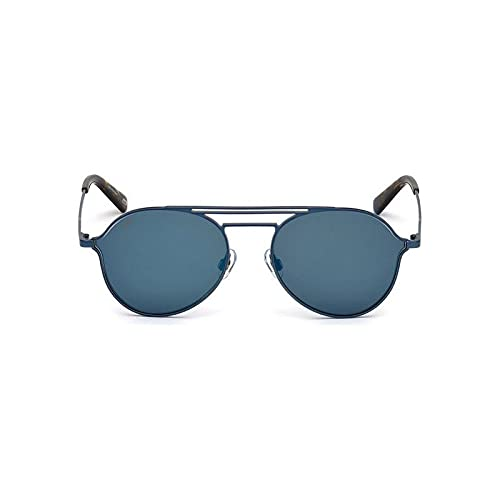 WEB WE0230 90X 56 Monturas de gafas, Azul (Blu LucBlu Specchiato), 56.0 Unisex Adulto