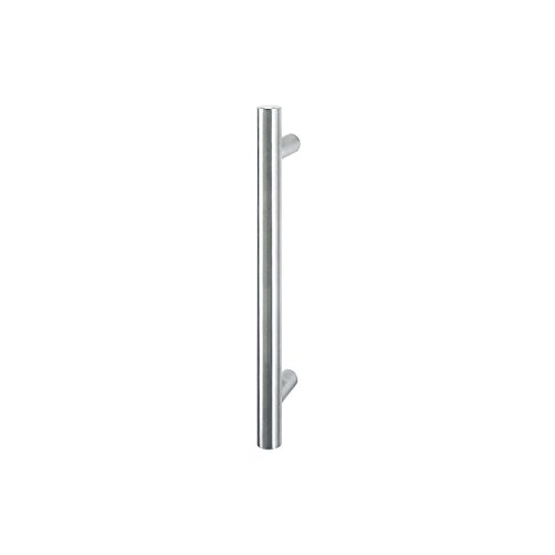 HOPPE Stangengriff E5011 - 1400/1000mm,  Edelstahl matt, Ausführung: gerade, Stossgriff für Haustür