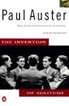 Invention of Solitude Biography Auster