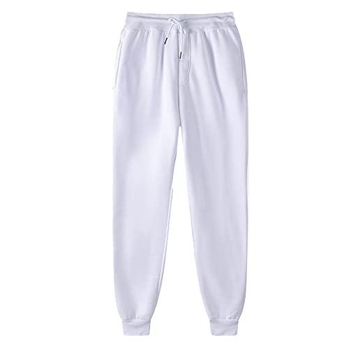 N\P Pantalones de poliéster para hombre Fitness Casual Pantalones de entrenamiento diario