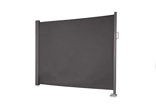 empasa Seitenmarkise \'Slim\' Sichtschutz Sonnenschutz Windschutz in verschiedenen Größen anthrazit oder cremeweiß
