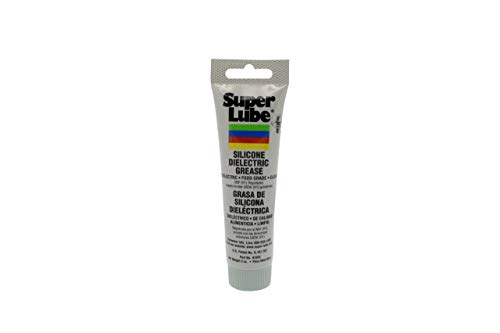 4 Pack - Manufacturer Super Lube Part Number 91003 Silicone High-Dielectric and Vacuum Grease, 3 oz.