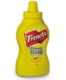 CMC French S Classic Yellow Mostarda, 1 confezione di Senape americana (1 x 226 Grammi)