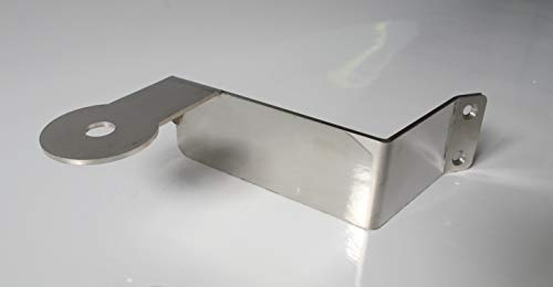 TRUCKDANET Accessorio in acciaio inox per camion Stralis,Cube, Hiway. Staffa per antenna CB