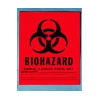 Medical Action Infectious Waste Bag, Red, 1 Gallon, 11