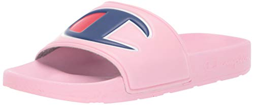 Champion Unisex IPO Slide, Kids, Pink/Pink, 5 M US