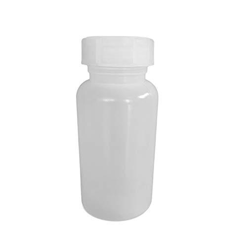 50 ml - 2000 ml Weithalsflasche LDPE-Flasche Kunststoffflasche Laborflasche rund (1000 ml)