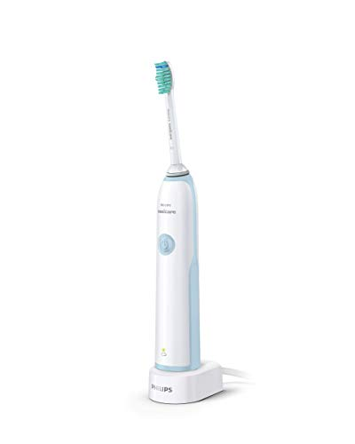 Philips Sonicare CleanCare+ Sonic Electric Rechargeable Toothbrush, HX3214/01 Light Blue