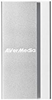 AVerMedia ExtremeCap, HDMI to USB 3.0 Capture Card, Record, Stream and Convert Uncompressed Full HD Video at 1080p60, Driver Free, Perfect for Video Conferencing, Live Event Streaming (BU110)