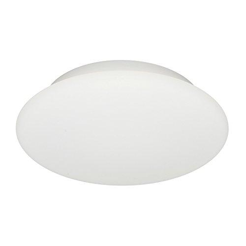My White Kunststoff Wandleuchte Deckenleuchte in Neutral weiß | Handgefertigt in Italien | Modern Design Dimmbar | Außenlampe LED