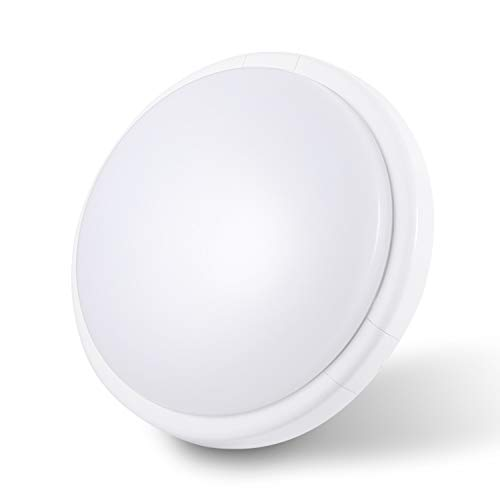 Oraymin 15W LED Deckenleuchte Rund, 1500lm Ø25*6cm IP44 4000K Neutralweiß Wasserfest Deckenlampe, Lampen ideal für Badezimmer, Schlafzimmer, Wohnzimmer, Küche, Balkon,Flur, Badezimmerlampe