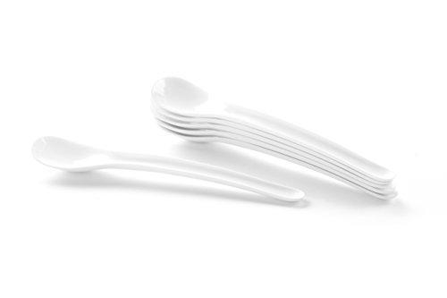 HENDI Eierlöffel, Eiscreme, Longdrinklöffel, StickzalhL 6, ABS Kunststoff