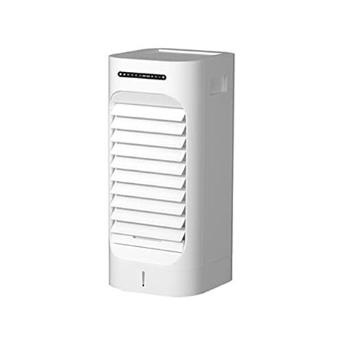 YRX Aria condizionata Ventilatore refrigerazione dormitorio Domestico refrigeratore d'Aria Piccolo condizionatore d'Aria Mobile ad Acqua macchinari Bianchi