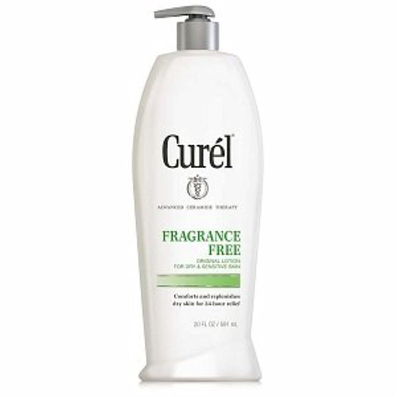 ストリップお酒遠洋のCurel Fragrance Free Original Lotion For Dry&Sensitive Skin - 13 fl oz  ポンプ式