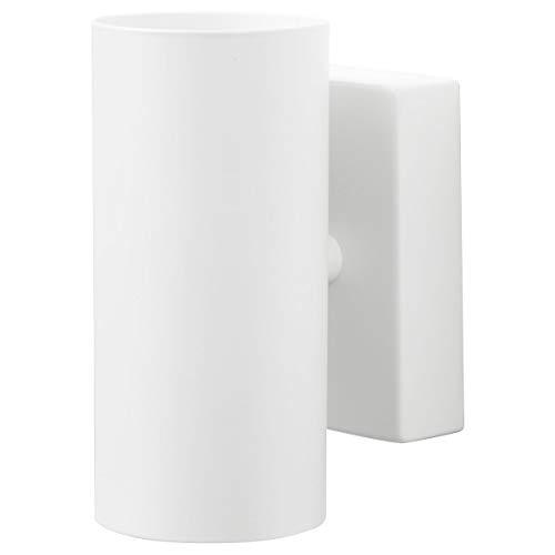 IKEA NYMÅNE - Lámpara de pared (15 x 7 cm), color blanco