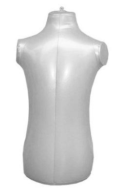Children's 3/4 Form Inflatable Mannequin Torso Dummy Model Fashion Kid's Dress Form Display