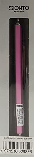 OHTO Horizion Gel-Kugelschreiber, 0,5 mm, pink (NKG-605H-GL)