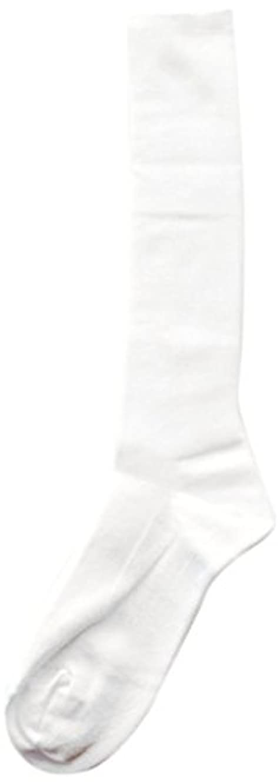 報酬脚本簡略化するDeol(デオル) ハイソックス 女性用 日本製 靴下 白 23cm-25cm