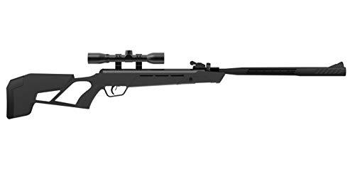 Crosman CMM2SXS Magfire Mission .22-Caliber Multi-Shot Auto-Loading Break Barrel Air Rifle with 3-9 x 40AO Scope, Black
