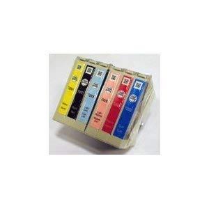 Bulk Packed Original Epson Claria T0807 - Set of 6 T0801 T0802 T0803 T0804 T0...