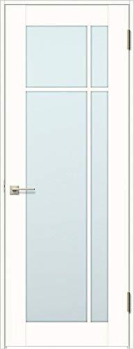 ラシッサS 標準ドア ASTH-LGK 錠付き 05520 W:648mm × H:2,023mm 吊元:右吊元 本体色/枠色:プレシャスホワイト(YY) 枠種類:ノンケーシング156(壁厚:116-130) 沓摺:なし 把手:サークルB 鍵種類:丸型シリ