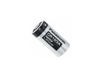Panasonic Lithium-Mangandioxid-Batterie CR 123 A, CR123A, 3 V