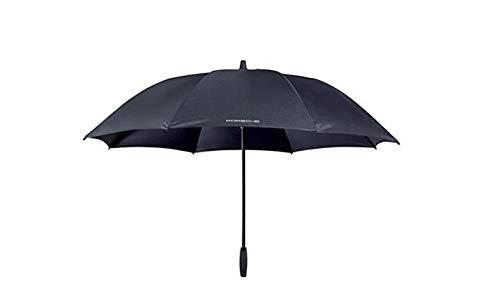 Porsche Regenschirm Größe XL Durchmesser 122 cm Farbe Grau