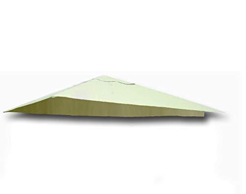 TrendLine Ersatzdach 3,4 x 3,4 m für Pavillon Dario Beige Pavillondach