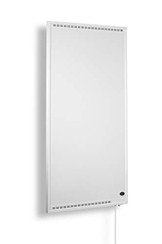 Könighaus Hybrid Infrarot Heizung 1200 Watt mit Ein- und Ausschalter + 5 Jahre Garantie ✓Infrarotheizung für 20-40m² (1200W)