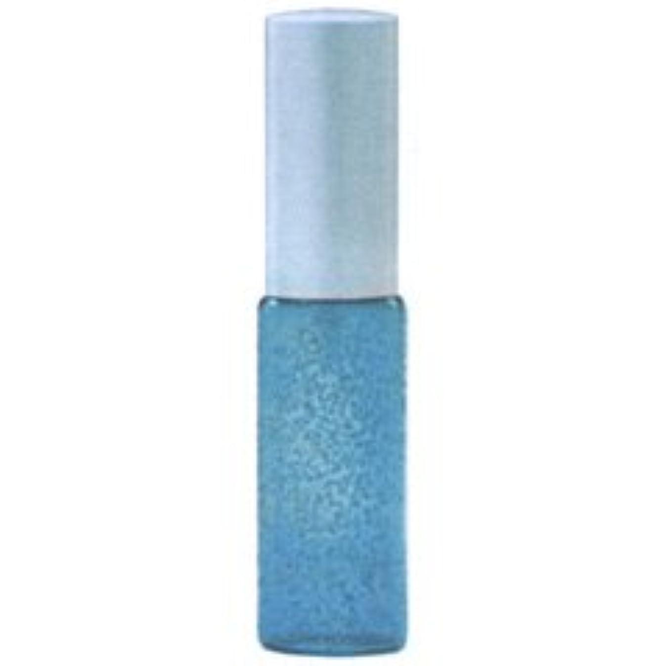 【ヒロセ アトマイザー】デカラメ ガラス アトマイザー メタルポンプ 80096 (10mlデカラメ ブルー) 5ml