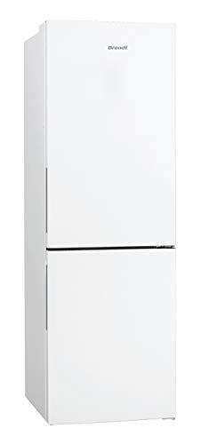Brandt BFC8631BW - Réfrigérateur Combiné - Porte Réversible - 312L - Classe énergétique A++